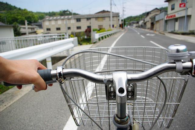 ホームヘルパーの移動手段を自転車