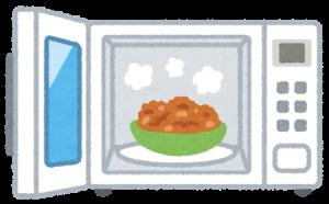 冷凍食品やレトルトなどのチルド食品を温めるだけ?